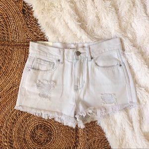 NWT pacsun high rise distressed shorts
